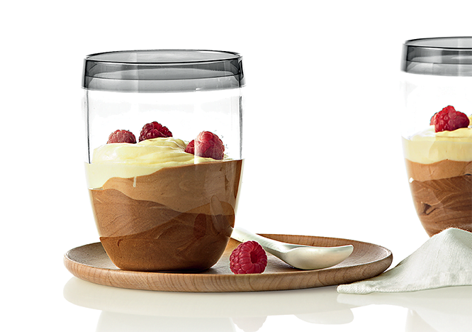 Triple Chocolate Instant Mousse