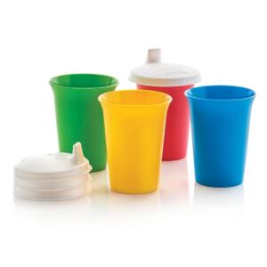 TUPPERKIDS BELL TUMBLERS (4)